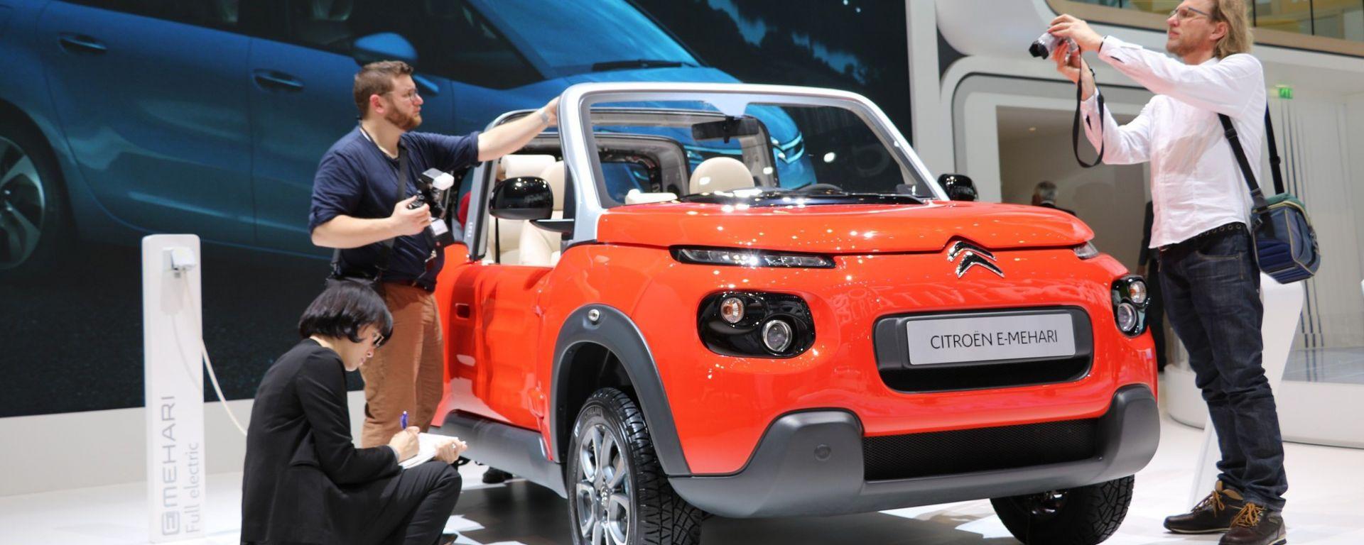 Ginevra 2016 - Notizie dalle Case: Citroën