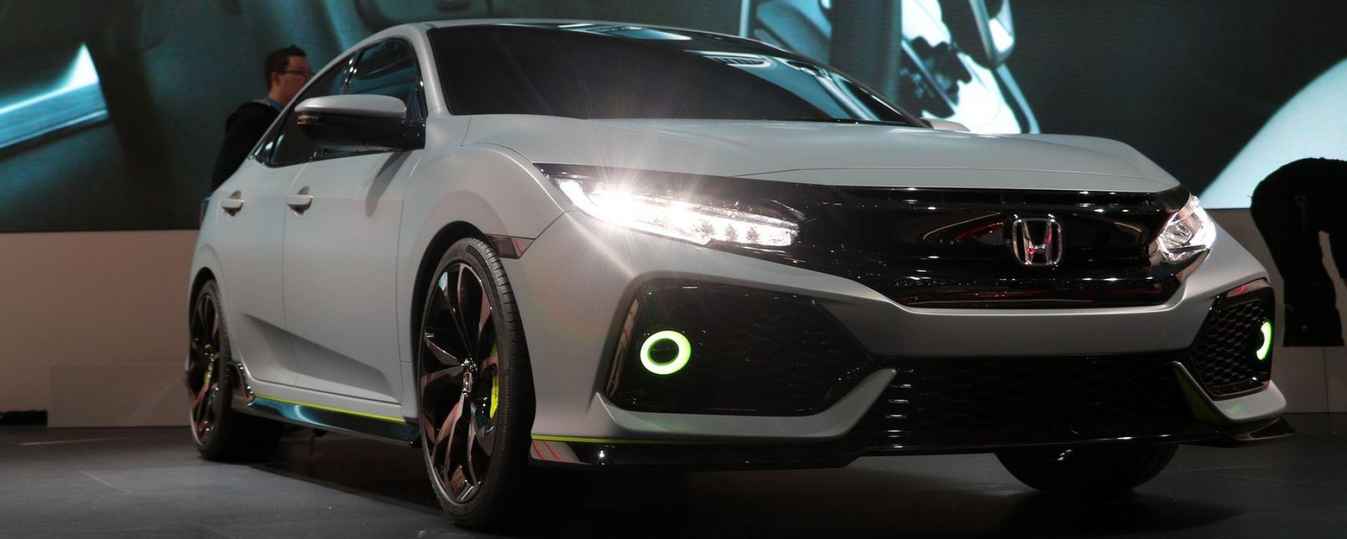 Ginevra 2016 - Notizie dalle Case: Honda