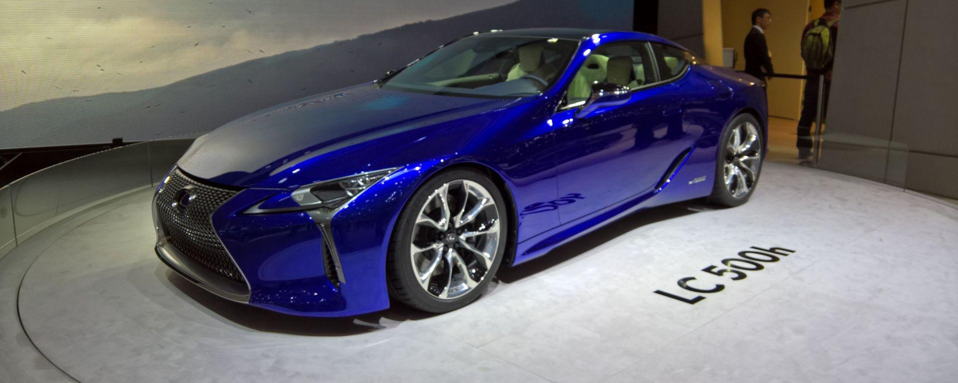 Ginevra 2016 - Notizie dalle Case: Lexus