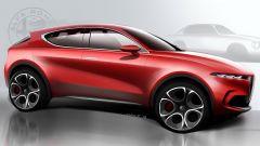 Alfa Romeo Tonale, svelato il concept del nuovo Suv compatto - Immagine: 18