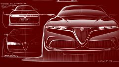 Alfa Romeo Tonale, svelato il concept del nuovo Suv compatto - Immagine: 23