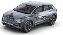 Audi Q4 e-tron concept, ecco il Suv elettrico compatto - Immagine: 14