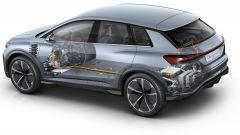 Audi Q4 e-tron concept, ecco il Suv elettrico compatto - Immagine: 15