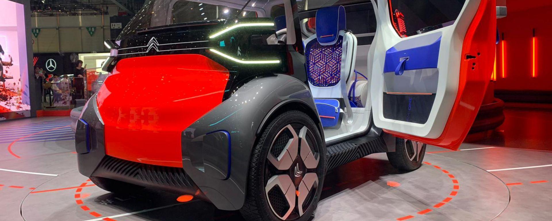 Citroen Ami One Concept, la citycar elettrica del futuro
