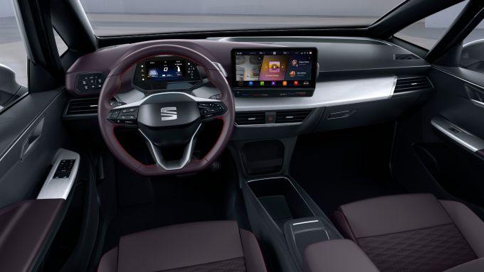 Seat el-Born concept, gli interni