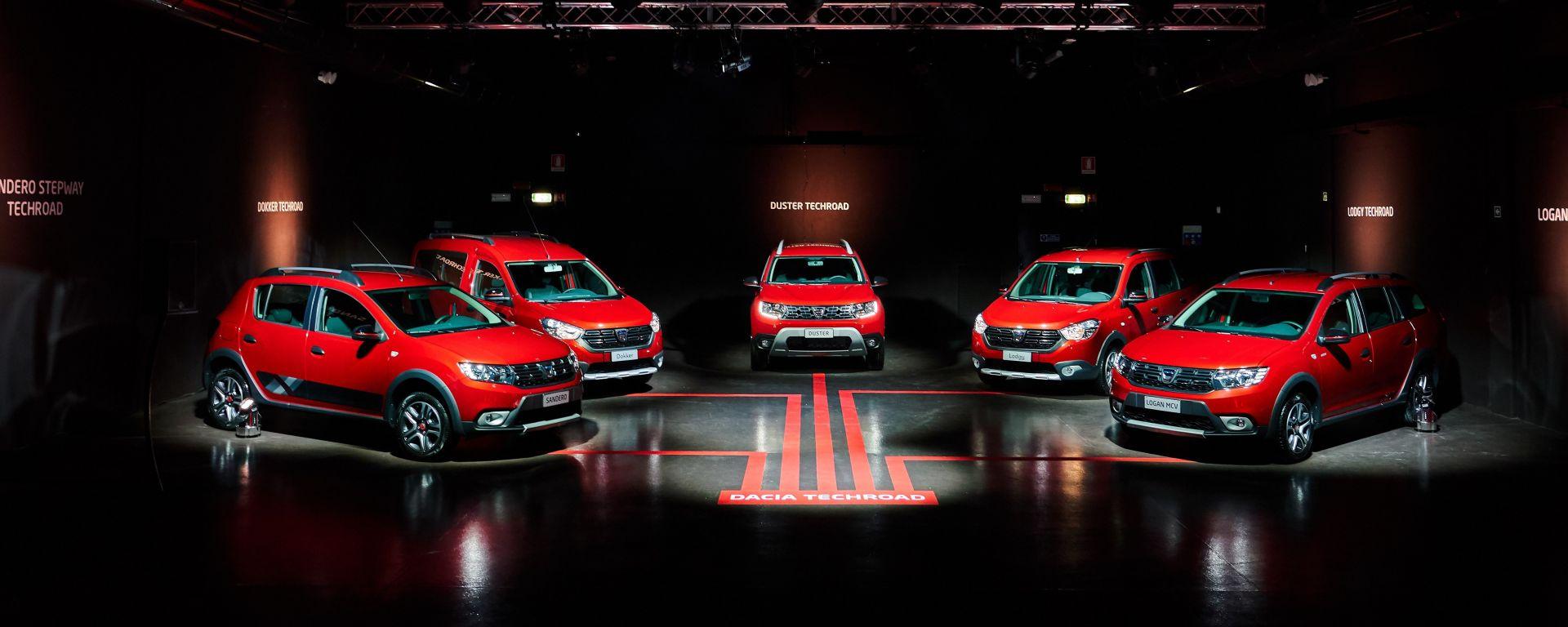 Dacia: arriva la serie speciale Techroad 100% turbo