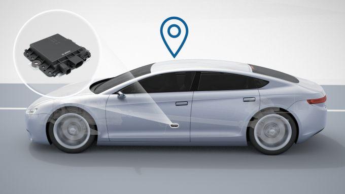 Sensore Bosch guida autonoma