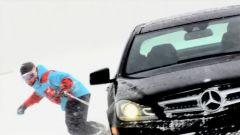 Giochi sulla neve con la C350 Coupé - Immagine: 1
