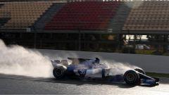 Giovinazzi e la Sauber C63 - F1 2017 test Barcellona
