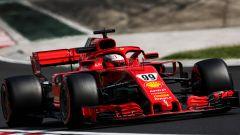 Giovinazzi prova la Ferrari SF71H negli in-season test 2018 di Budapest