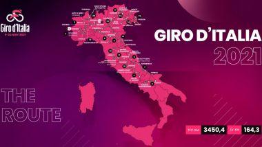 Giro d'Italia 2021: il programma e le tappe