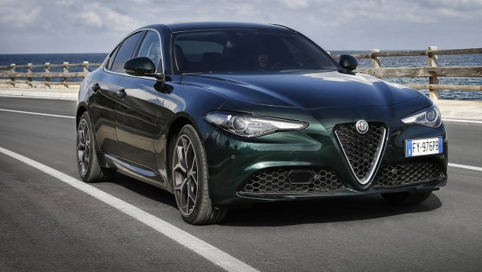 Giulia 2020 nella nuova livrea Verde Visconti