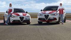 Giulia e Stelvio Alfa Romeo Racing con Giovinazzi e Raikkonen