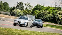 Giulia Veloce Diesel o Giulia Veloce a benzina: quale scegliere