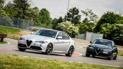 Giulia Veloce Diesel precede Giulia Veloce a benzina