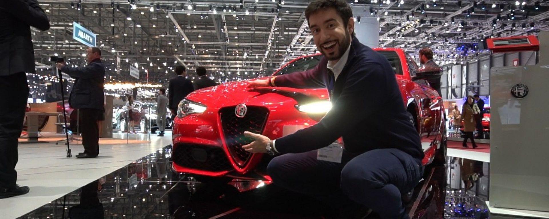 Alfa Romeo Giulia Veloce Turismo Internazionale in video