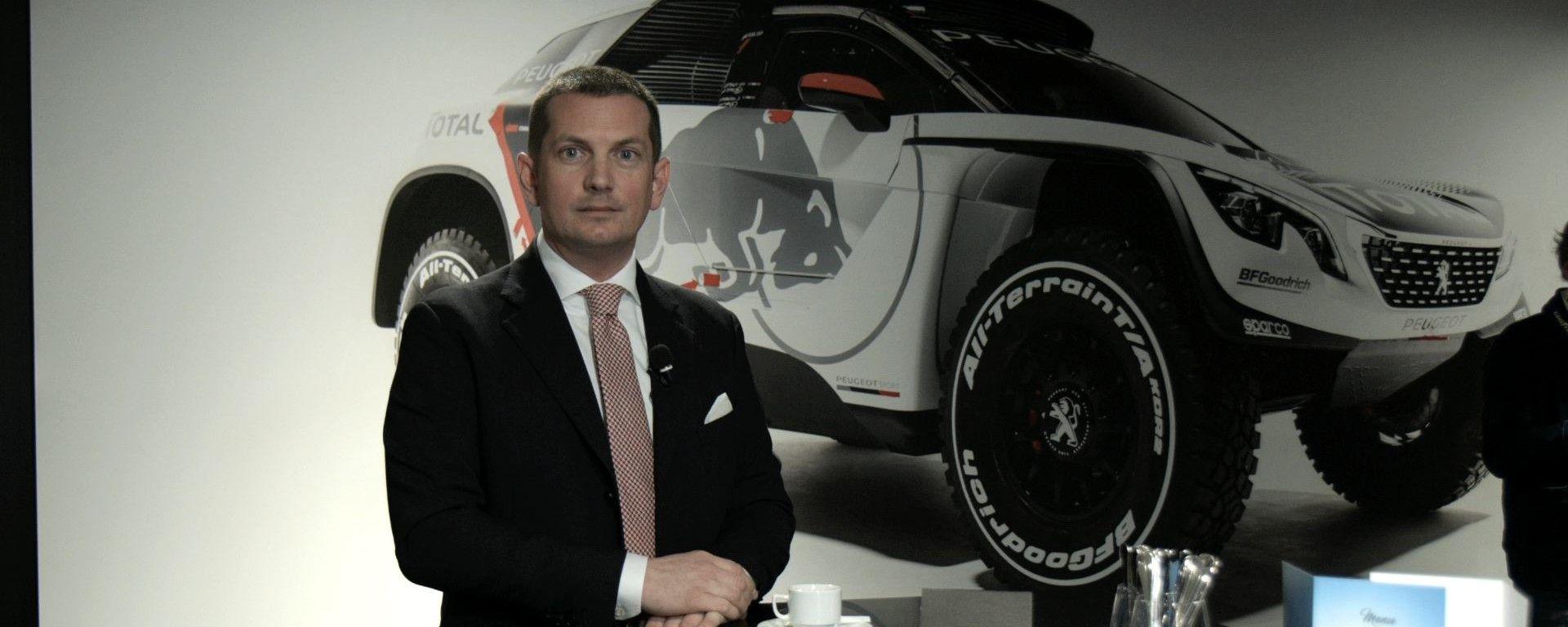Giulio Marc D'Alberton, Responsabile Comunicazione Peugeot Italia