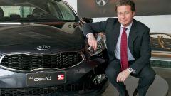 Giuseppe Bitti di Kia Motors Company Italy in un'altra foto