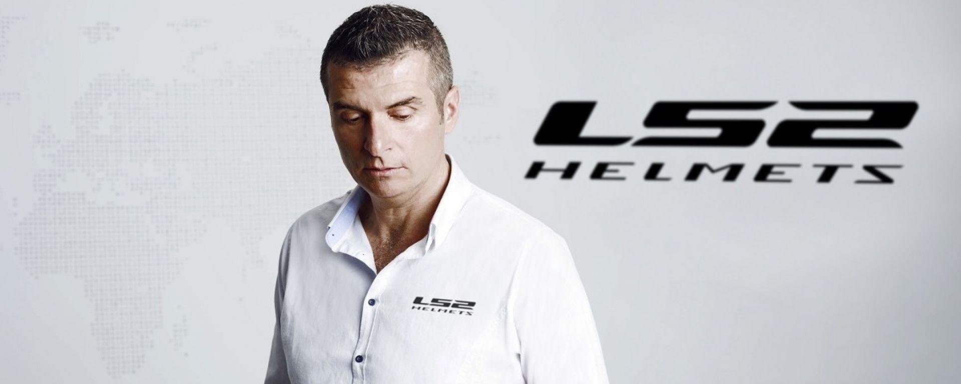 Giuseppe Porcu LS2 Helmets