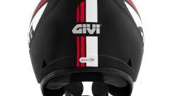 Givi 30.3 Geneve grafica rosso/bianca su nero opaco