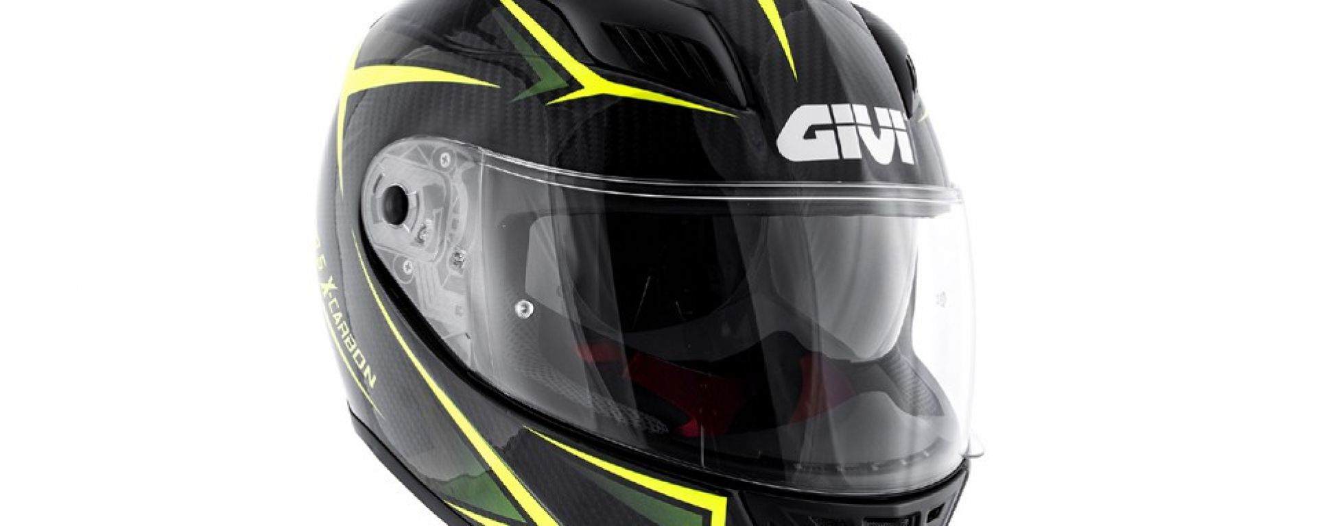 GIVI 40.5 X-CARBON Neon Yellow