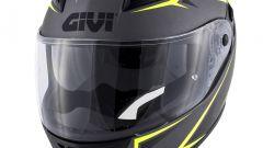 GIVI 40.5 X-FIBER Titanium/Neon Yellow