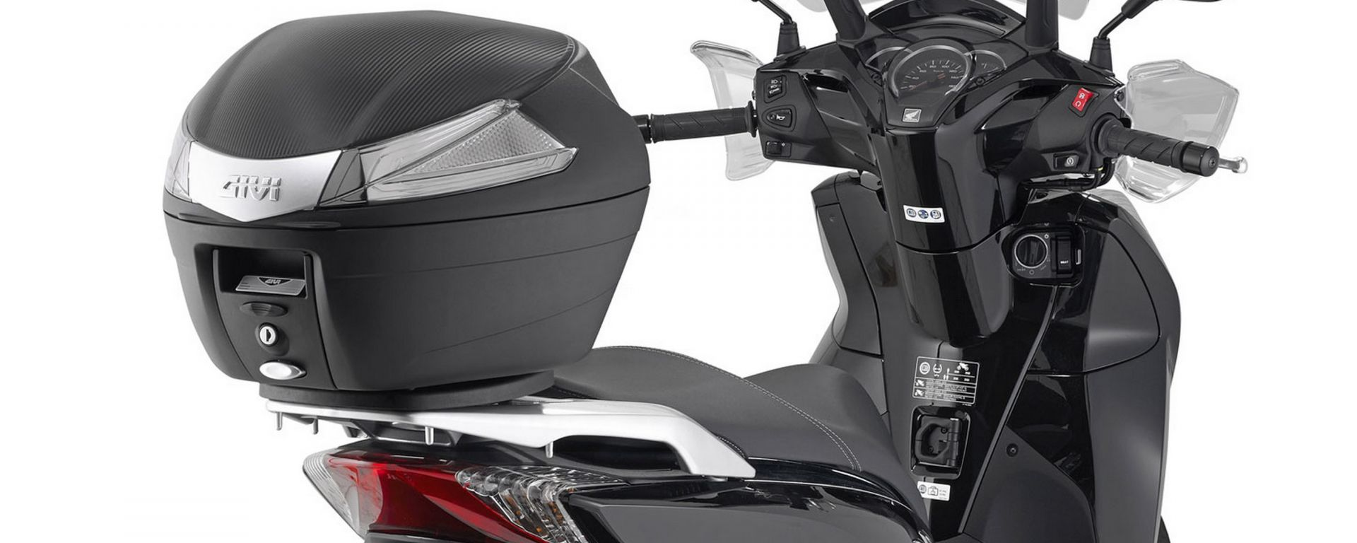 Givi: bauletto B34 e B34 Tech