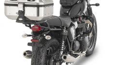 Givi: borse Dolomiti montate su TRIUMPH Sreet Twin 900