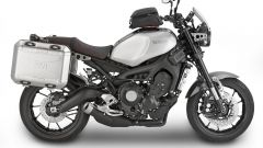 Givi: borse Dolomiti montate su Yamaha XSR900