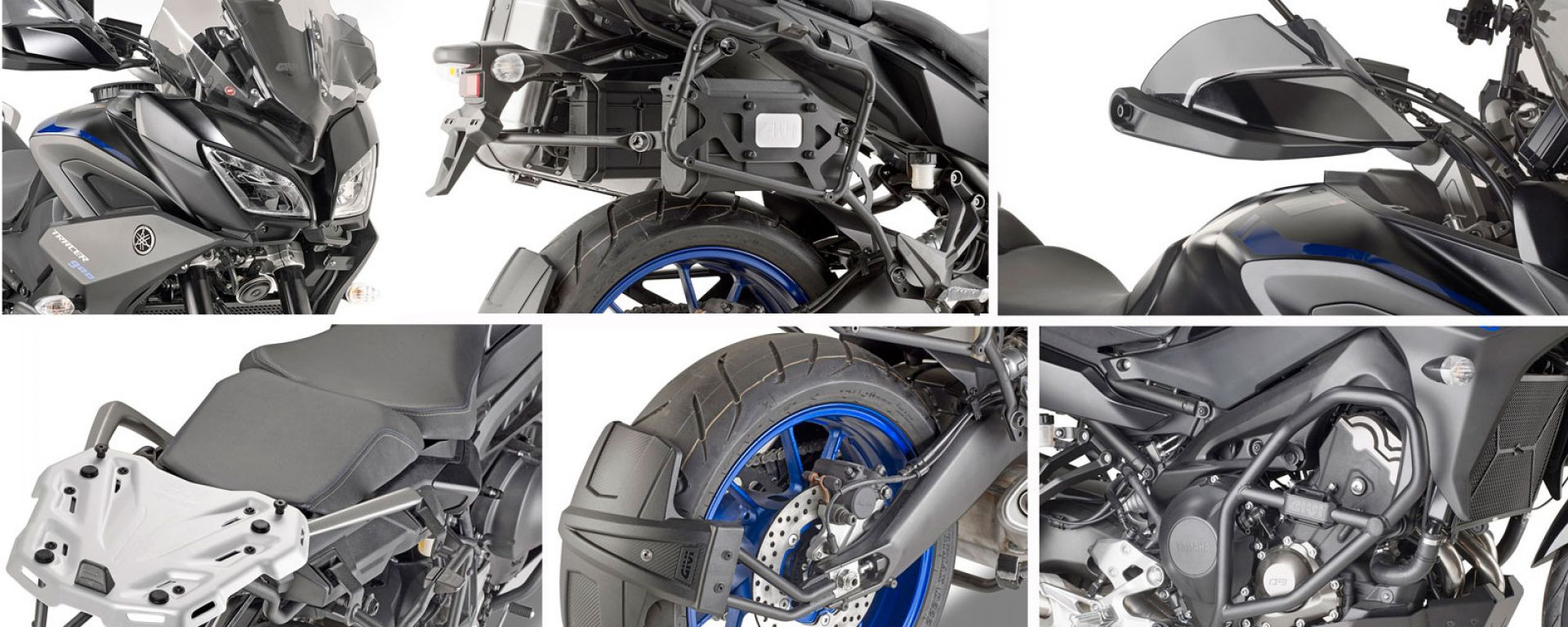 Givi: kit di accessori per Yamaha Tracer 900