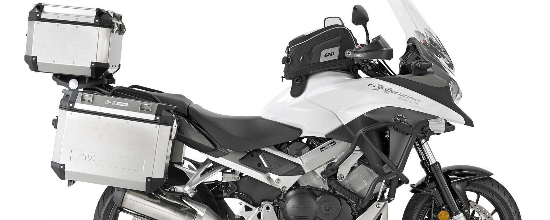Givi: nuovi accessori per la Honda Crossrunner