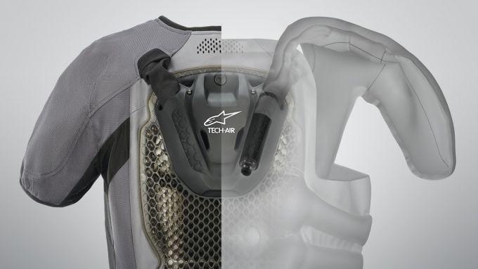 Gli airbag con la tecnologia Tech-Air 5