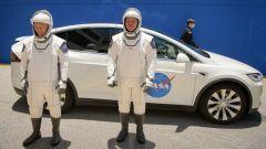 Gli astronauti americani Robert Behnken e Doug Hurley