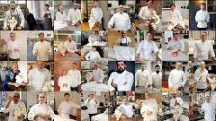 Gli Chef stellati che partecipano all'iniziativa