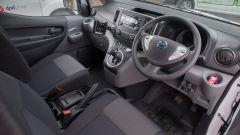 Gli interni dei Nissan e-NV200 per DPD