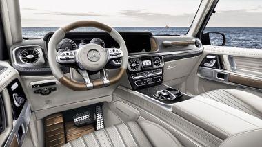 Gli interni del G63 AMG col kit G Yachting