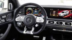 Gli interni del Mercedes AMG GLS 63