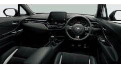 Gli interni del Toyota C-HR GR Sport 2020