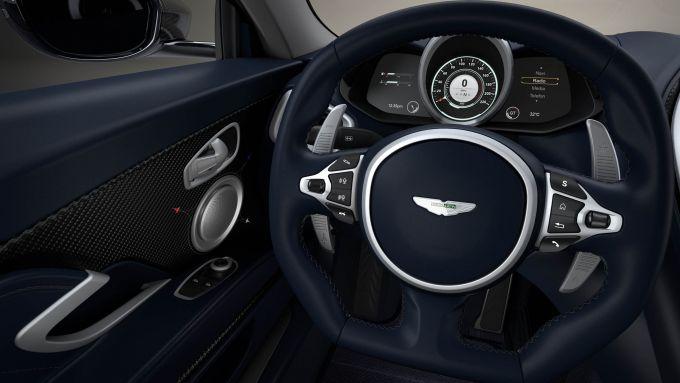 Gli interni della Aston Martin DBS Superleggera Concorde Edition