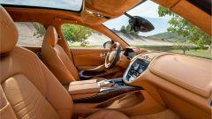 Gli interni della Aston Martin DBX