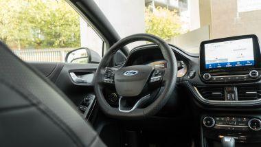 Gli interni della Ford Puma ST Line Vignale