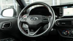 Gli interni della Hyundai i10 N Line