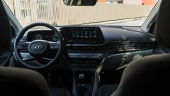 Gli interni della Hyundai i20 1.0 T-GDi mild hybrid