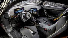 Gli interni della Mercedes-AMG One