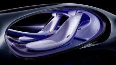 Gli interni della Mercedes-Benz Vision AVTR