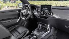 Gli interni della Mercedes Classe X
