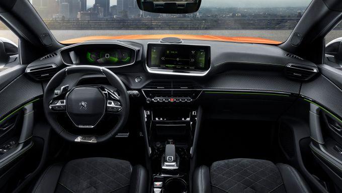 Gli interni della nuova Peugeot 2008