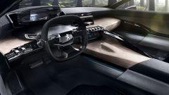 Gli interni della nuova Peugeot 508 riprenderanno invece quelli della concept Exalt