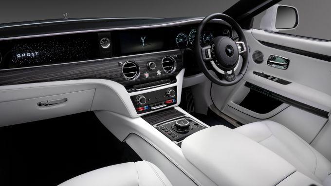 Gli interni della nuova Rolls-Royce Ghost