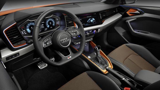 Gli interni di Audi A1 Citycarver